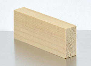 4 inch long 1x2 wood furring strip