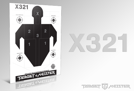 X321 Paper Targets (25 Pack)