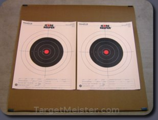 backing with 2 14x18 targets